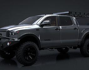 2012 Toyota Tundra Rigged C4D 3D model