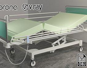 Medical Bed 3D model pbr