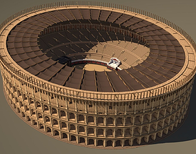 3D model Roman Colosseum Reconstruction