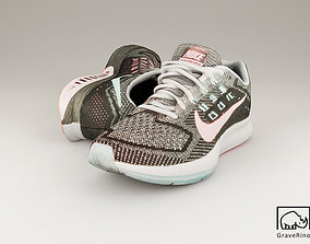 Nike Zoom Structure 18 3D Model