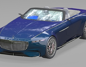 Mercedes-Maybach Vision 6 2018 3D model