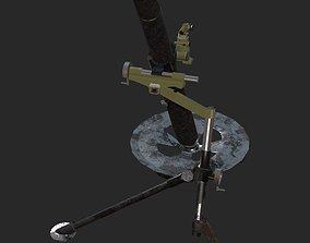 3D model L16a2 Mortar 81mm