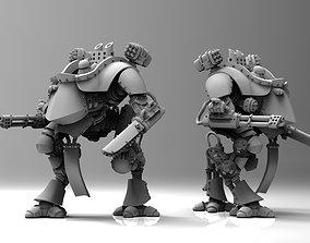 3D printable model Feudal Guard Walker 3dprint