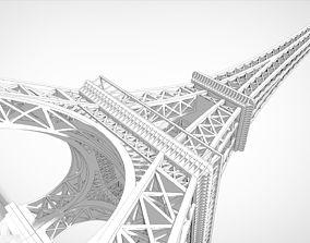 3D printable model Eiffel Tower Miniature