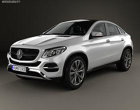 Mercedes-Benz GLE-Class coupe 2014 3D model