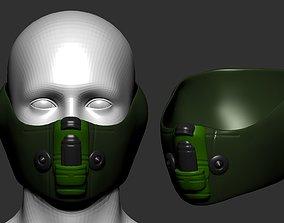 character urinal helmet high poly sculpt 3d printable