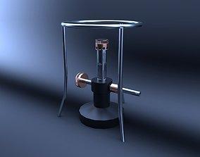 3D asset realtime Bunsenburner