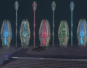 3D model weapons 2 in 1