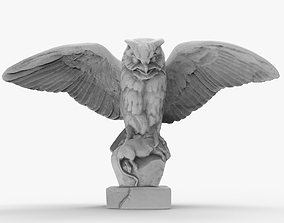 Owl Sculpture 3D printable model