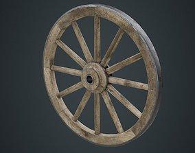 Wagon Wheel 1B 3D model