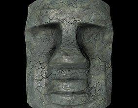 3D model aztec totem