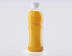 3D Bottle Juice Splash