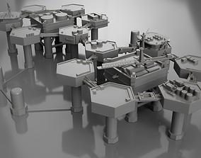 3D printable model Metal gear solid 2 Little big shell 1