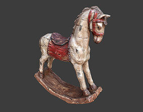 3D asset VR / AR ready Decorative Horse