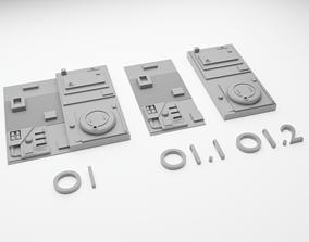 3D print model Star Wars Death Star Tile Type O
