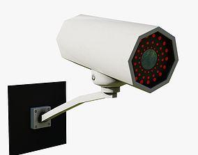 CCTV Camera - Low Poly 3D model security