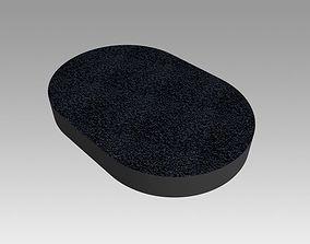 3D model Coal sponge