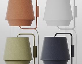 ZERO ELEMENTS Fabric Wall lights 4 Colors 3D