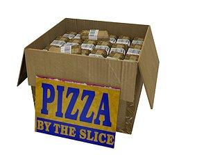 Cardboard Boxes 03 3D asset