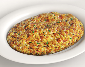 Fried rice 3D
