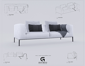 Marvelous Rigged Pillow 3D Models Cgtrader Unemploymentrelief Wooden Chair Designs For Living Room Unemploymentrelieforg