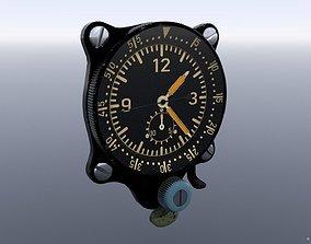 GERMAN CLOCK GAUGE 3D model