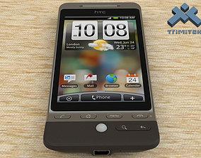 3D model HTC Hero smartphone - 2009 - Black