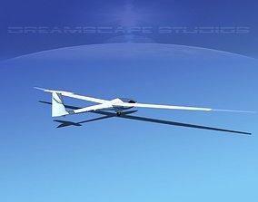 Glaser Dirks DG200 15Mtr Sailplane V05 3D