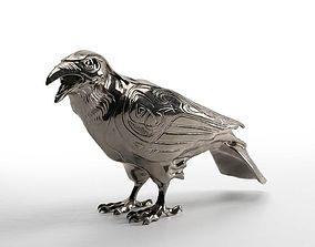 Raven Sculpture 3D