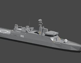 Frigate Sigma Class 3D asset