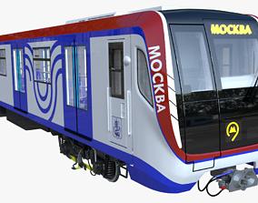 Moscow metro train 3D