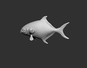 Sea fish flipper 3D model