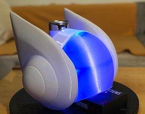 3D printable model DJ Sona full helmet removable front