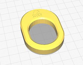 3D print model Simple napkin ring with Jumpman
