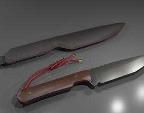 3D model EDC Knife
