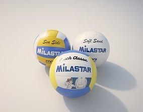 3D model Volleyballs