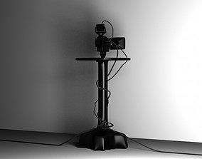 3D model TV camera