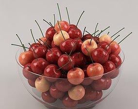 Cherries 02 3D model