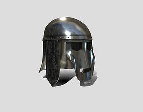 3D model Medieval Anglo Saxon Helm