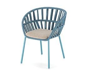 KETTAL Cala dining armchair 3D model