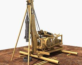 Percussive Drilling Rig 3D