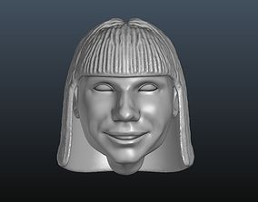 Female head 8 3D printable model