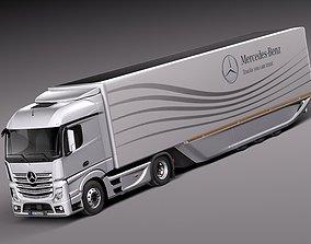 Mercedes Actross AeroTrailer 2014 3D