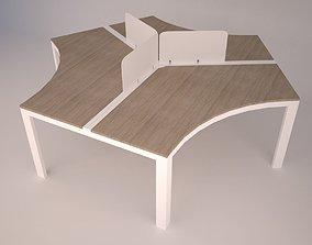 3D asset Modern Office Furniture N10