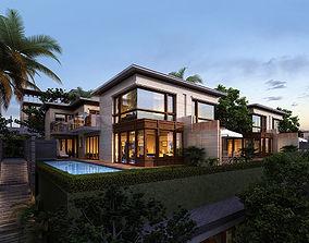 Tropical Villa 3D