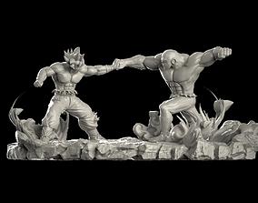 3dprinting 3D printable model Goku vs Jiren