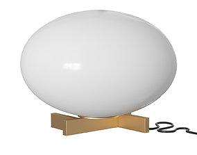 3D model Alba Table Lamp corona