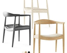 3D PP Mobler Wegner Chair PP503