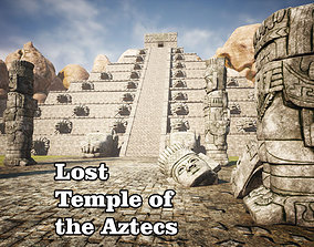 3D model realtime Lost Temple of the Aztecs