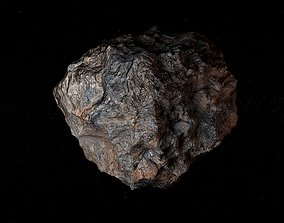 3D model meteorite Asteroid